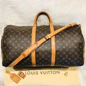 Louis Vuitton Bandouliere Keepall 55 #7.6R